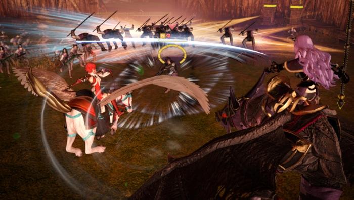 Fire Emblem Warriors Gameplay Screenshot 1