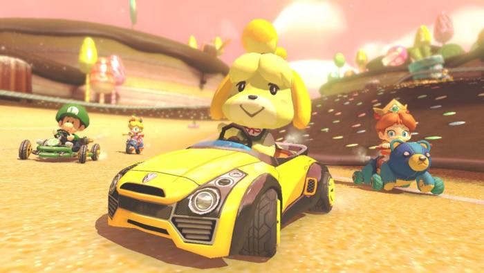 Mario Kart 8 Deluxe Launch Poster 1
