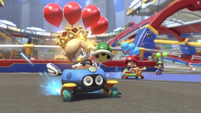 Mario Kart 8 Switch Poster