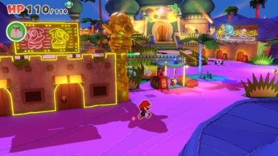 Paper Mario The Origami King Gameplay Screenshot 3