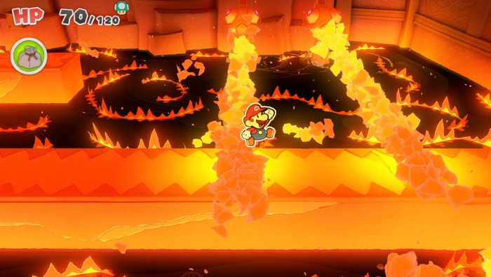 Paper Mario The Origami King Gameplay Screenshot 1