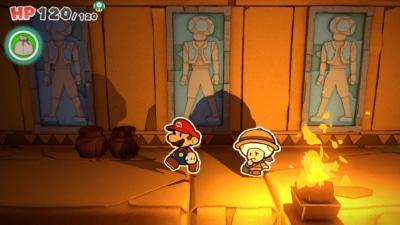Paper Mario The Origami King Gameplay Screenshot 2