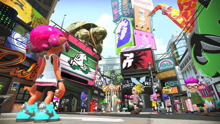 Splatoon 2 Gameplay Poster 4