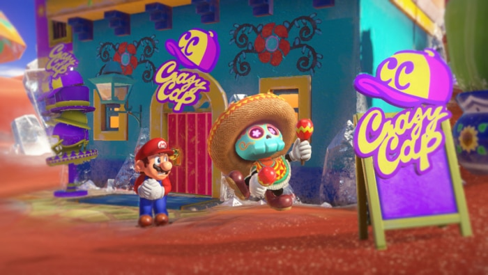 Super Mario Odyssey Poster 2