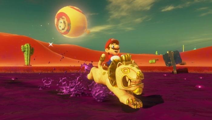 Super Mario Odyssey Gameplay Screenshot 2