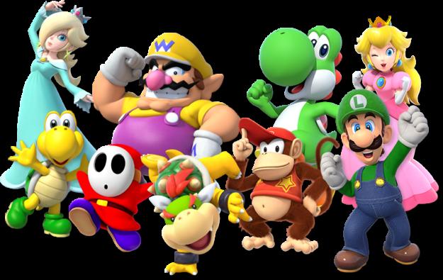 Super Mario Party Poster 1