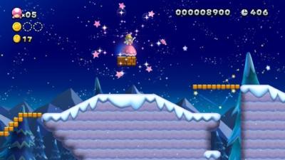 New Super Mario Bros U Deluxe Gameplay Screenshot 1