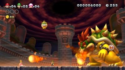 New Super Mario Bros U Deluxe Gameplay Screenshot 2