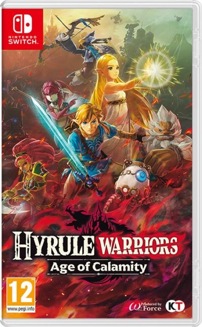 Hyrule Warriors: Age of Calamity Box Art