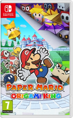 Paper Mario The Origami King Box Art