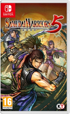 Samurai Warriors 5 Box Art