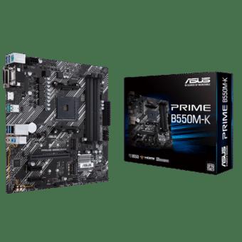 ASUS PRIME B550M-K Box View