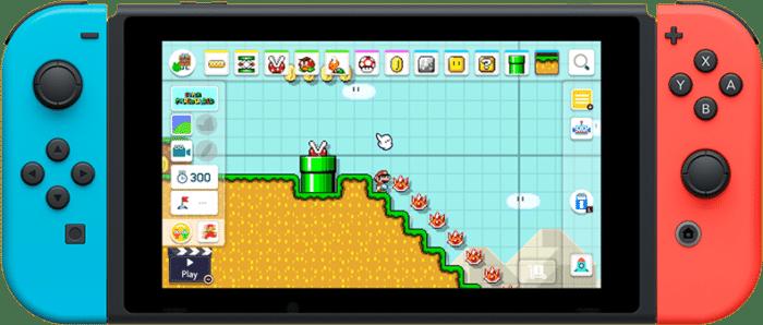 Super Mario Maker 2 Console