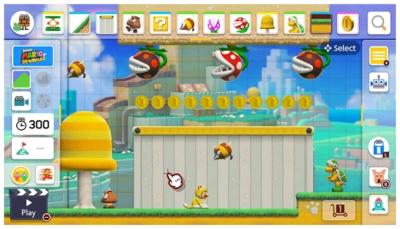 Super Mario Maker 2 Gameplay Screenshot