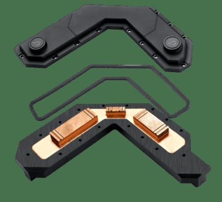 ASUS ROG Crosshair VIII Formula VRM Waterblock Image