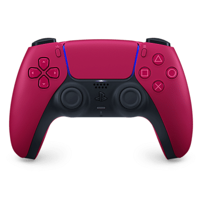 Sony PS5 DualSense Cosmic Red Flat View