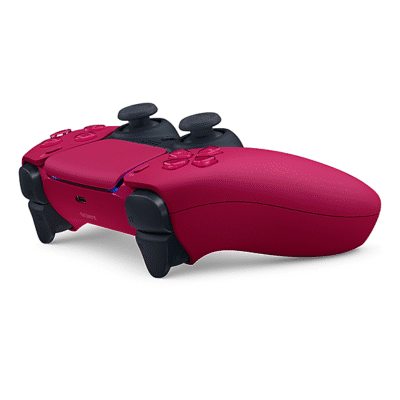 Sony PS5 DualSense Cosmic Red Angled View