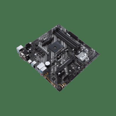 ASUS PRIME B550M-K Flat Angled View