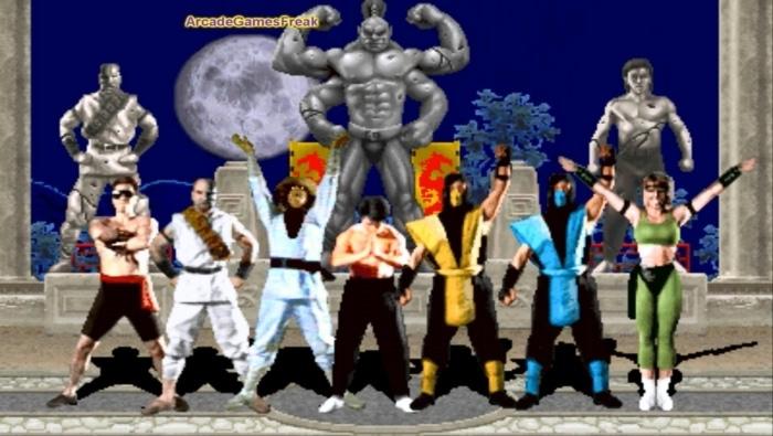 Mortal Kombat 1 Character Poster