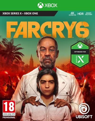 Far Cry 6 Standard Edition Xbox Box Art
