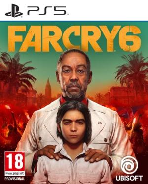 Far Cry 6 Standard Edition PS5 Box Art