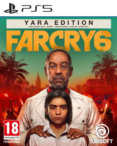 Far Cry 6 Yara Edition PS5 Box Art