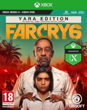 Far Cry 6 Yara Edition Xbox Box Art
