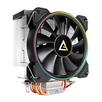 Antec A400 RGB Angled Fan View
