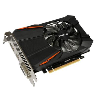 Gigabyte GTX 1050 Ti 4GB D5 Angled View