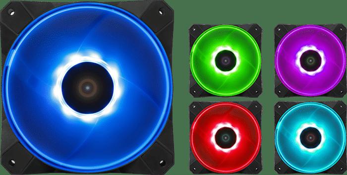 Antec K240 Kuhler H2O RGB Fan View