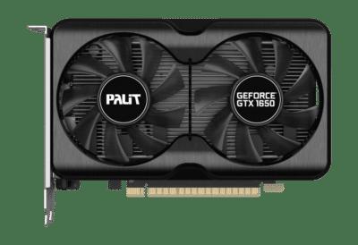 Palit GTX 1650 GamingPro 4GB Flat View