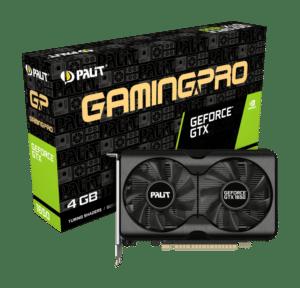 Palit GTX 1650 GamingPro 4GB Box View