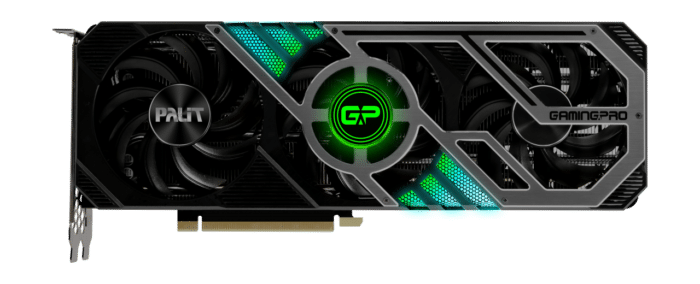 Palit RTX 3080 Ti GamingPro RGB Fan View