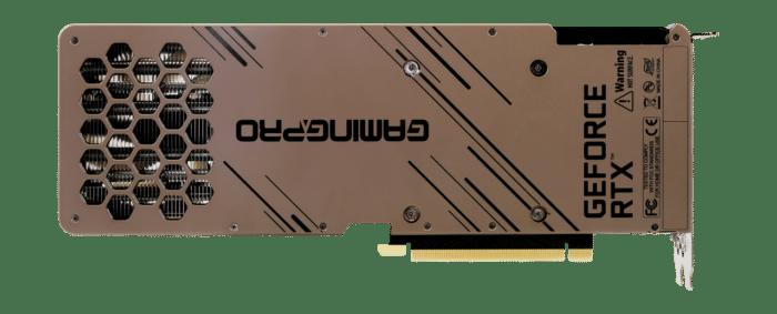 Palit RTX 3080 GamingPro V1 LHR Backplate View