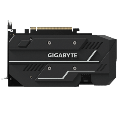 Gigabyte GTX 1660 OC Backplate View
