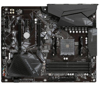GIGABYTE B550 Gaming X V2 Flat View