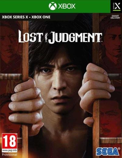 Lost Judgment Box Art XSX