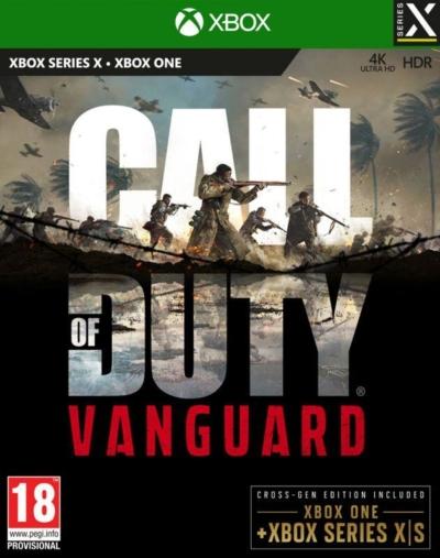 Call of Duty: Vanguard Box Art XSX