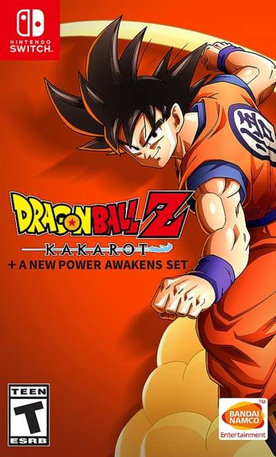 Dragon Ball Z: Kakarot + A New Power Awakens Set Box Art