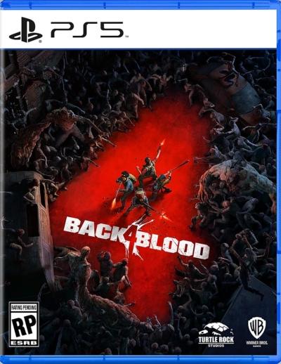 Back 4 Blood Box Art PS5