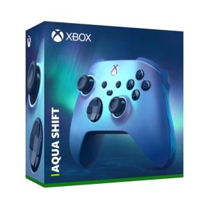 Xbox Aqua Shift Wireless Controller Box View