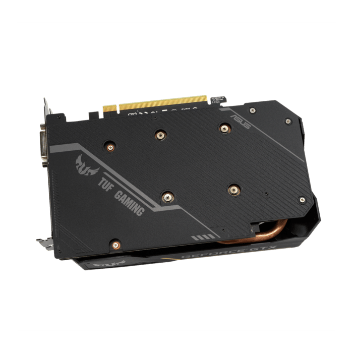ASUS GTX 1650 TUF Gaming Backplate View