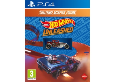 Hot Wheels Unleashed Challenge Accepted Edition PS4 Box Cover
