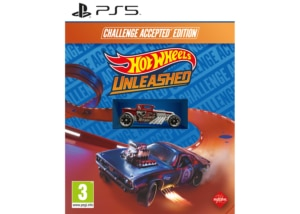 Hot Wheels Unleashed Challenge Accepted Edition PS5 Box Cover