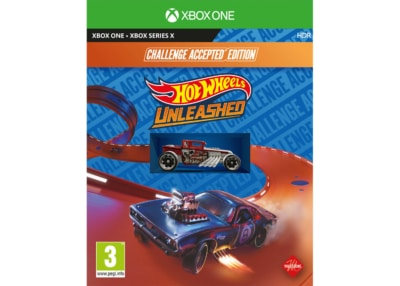 Hot Wheels Unleashed Challenge Accepted Edition Xbox One Box Cover