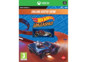 Hot Wheels Unleashed Challenge Accepted Edition Xbox Series X Box Cover