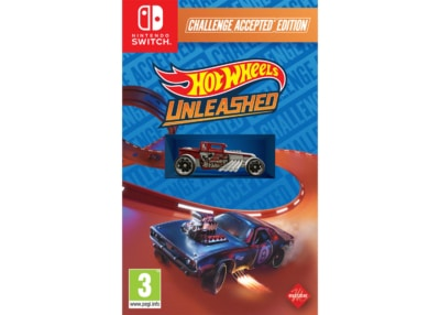 Hot Wheels Unleashed Challenge Accepted Edition Nintendo Switch Box Cover