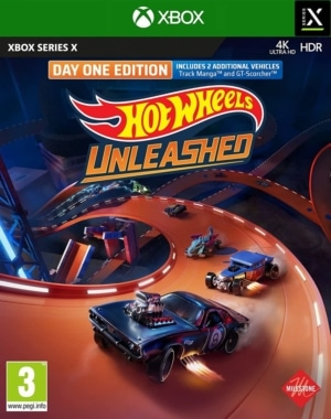 Hot Wheels Unleashed Day One Edition Xbox Series X Box Cover