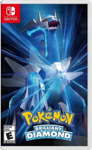 Pokémon Brilliant Diamond Box Art