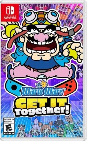 WarioWare: Get It Together! Box Art Nintendo Switch